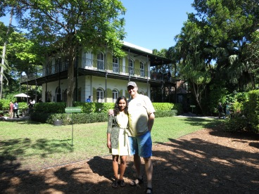 Mangala and I at Hemingway House